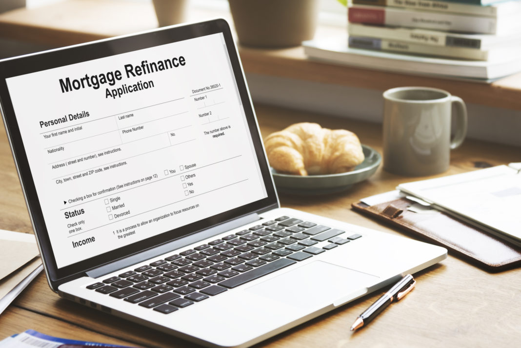 Benefit Moderate Home Refinance in Only Hardly any Snaps!